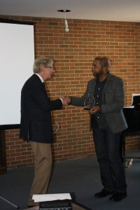 Keith Francis 2016 Christopher Innes Interdisciplinary Studies Champion Award