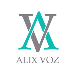 illustration of the Alix Voz monogram