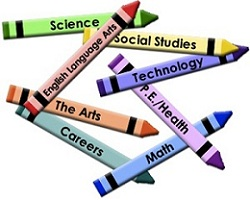 interdisciplinary crayons